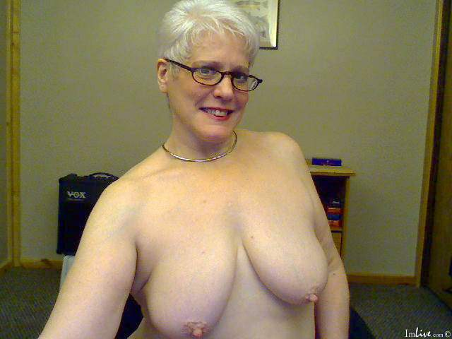 Nude granny live TV show
