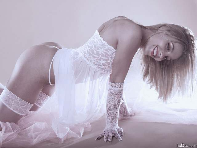 Sexy webcam lingerie model